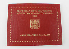 Vaticano Moneda conmemorativa Pontificado Benedikt XVI. 4. Año de 2008