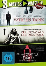 DER EXORZISMUS DER EMMA EVANS/VATICAN TAPES/AT THE DEVIL'S DOOR  3 DVD NEU