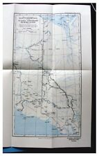1927 Nesham - YUKON-ALASKA BOUNDARY - Remote Eskimos - WITH COLOR MAP - 1