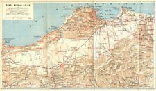 Algérie. sahel, sanguinaires, atlas 1909 old antique vintage carte plan graphique