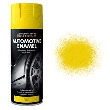 x 1 Rust-Oleum Auto Automotive Esmalte coche pintura en aerosol amarillo brillo