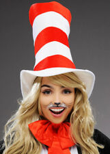 Adult Size Cat In The Hat Tall Striped Hat