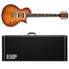 ESP LTD Deluxe EC-1000FM Amber Sunburst ASB NEW FREE HS CASE! EC-1000 EC1000