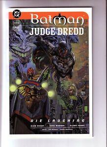 BATMAN JUDGE DREDD DIE LAUGHING #1 (FN-NM) 1998 THE JOKER FIRST PRINTING