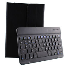 """BALCK Leather Bluetooth 3.0 Keyboard Case Cover For 7"""" 8"""" 7.9"""" inch ipad mini"""