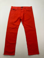 HUGO BOSS MAINE Jeans - W36 L32 - Red - Good Condition - Men's