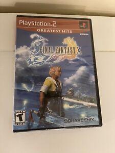 Final Fantasy X (10) Sony PlayStation 2 PS2 BRAND NEW SEALED
