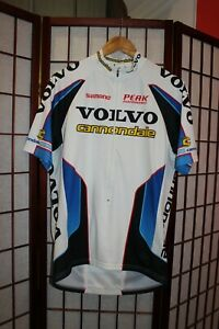 Volvo Cannondale Shimano Team cycling jersey size L .  ALY