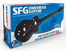 SFG Universal Wireless Guitar PS3 + Wii Hero/Rock Band Compatible VERY RARE!!