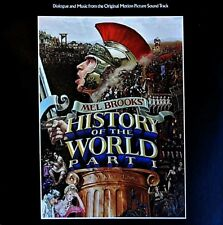 MEL BROOKS' HISTORY OF THE WORLD PART ONE * LP * Dialogue and Music * 1981