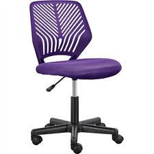 Armless Study Desk Chair Kids Students Teens Adjustable Height Computer Chair