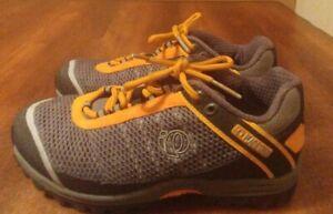 Pearl Izumi Men's EU 39/US 6.5 Cycling Shoes X Alp Seek Grey Orange