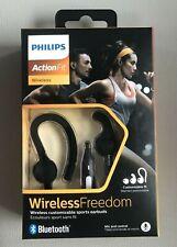 Philips Actionfit Customizable Bluetooth Wireless Headphones SHQ7800BK -Black