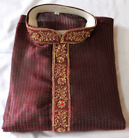 Burgundy Men Kurta Set Festival New Arrivals
