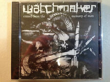 WATCHMAKER - ERASED FROM THE MEMORY OF MAN 2005 1PR SEALED! NAPALM DEATH AFGRUND