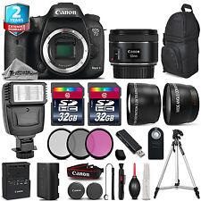 Canon EOS 7D Mark II Camera + 50mm 1.8 + Flash + 64GB +Filter Kit + 2yr Warranty