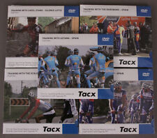 Tacx Training With Pro Cyclists Set of Five Video DVDs Road Bike Trainer 10 Pack