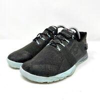 Reebok CrossFit Nano Pump Fusion Womens Size 10M Black Blue Training Shoes 67641