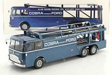 1 18 NOREV FIAT Bartoletti 306/2 Shelby Cobra Race Transporter