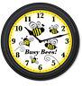 Bumble Bees WALL CLOCK - Classroom Home School Office Decor Teacher - GREAT GIFT