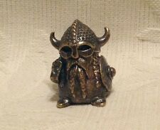 Russian Сollectible Decorative Brass Thimble Viking