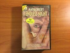 Agatha Christie's Endless Night VHS Video