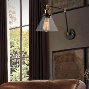 Swing Arm Wall Lamp Kitchen Wall Lights Bedroom Wall Sconce Office Wall Fixtures