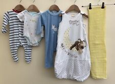 Baby Boys Bundle Of Clothing & Sleeping Bag 3-6 Months <D2898