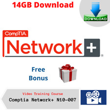 Comptia Network Plus N10-007 Video Training Course 14GB DOWNLOAD + Free Bonus