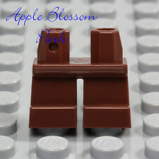 NEW Lego Minifig Reddish BROWN SHORT LEGS - Boy Girl Child Kid Jeans Pants Lower