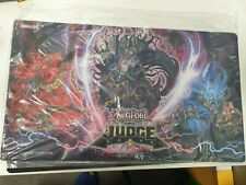 More details for official yu-gi-oh! remote duel judge playmat - unchained game mat sealed.