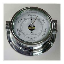 Nautical Barometer, Polished Chrome