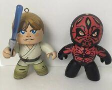 Luke Skywalker And Darth Maul Mighty Muggs Star Wars