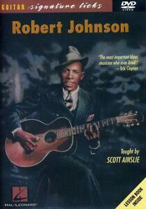Robert Johnson - Robert Johnson Guitar Signature Licks Series [New DVD]