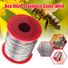 Meco 500g 0.5mm Stainless Steel Bee Hive Frame Wax Foundation Wire Keeping Roll