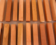 40 Spanish Cedar solid wood turning squares 3/4 x 3/4 x 5 inches long kilndried