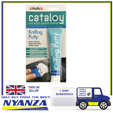 HOLTS CATALOY KNIFING PUTTY FILLS SURFACE SCRATCHES AND STONE CHIPS 100G