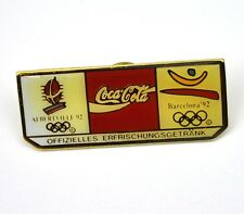 Coca-Cola Coke USA Lapel Pin Button Badge Anstecknadel - Barcelona '92