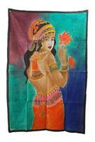 Batik Donna Hindu Erotico 115x 74cm Parete 22