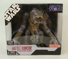 Star Wars 30th Force Unleashed Battle Rancor & Felucian Rider Target  Sealed