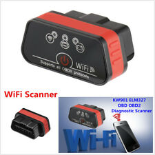 OBD OBD2 II WiFi KW901 ELM327 Scanner IOS/Android Auto Car Diagnostic Scan Tool