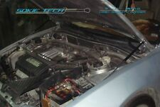 97-03 Mitsubishi Galant Legnum VR4 Black Strut Gas Lift Hood Shock Damper Kit