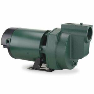 NEW Zoeller 1332-0006 Irrigation Lawn Pump Cast Iron 1.5HP 70GPM (115V & 230V)