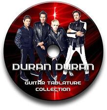 DURAN DURAN POP ROCK GUITAR TABS TABLATURE SONG BOOK SOFTWARE CD