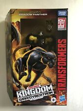 TRANSFORMERS WAR FOR CYBERTRON WFC KINGDOM DELUXE Shadow PANTHER ACTION FIGURE