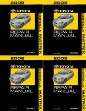 2009 toyota corolla s repair manual