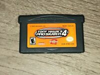 Tony Hawk's Pro Skater 4 Nintendo Game Boy Advance GBA Tested Authentic
