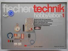 Fischertechnik Baukasten Hobbylabor 1 mit Abdeckung 2306267  # TOP #