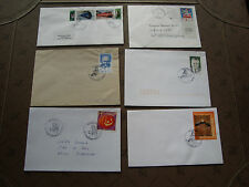 FRANCE - 6 enveloppes 2001/2002  (cy49) french