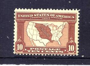 US Stamps - #327 - MNH - 10 cent Louisiana Purchase Expo Issue - CV $300